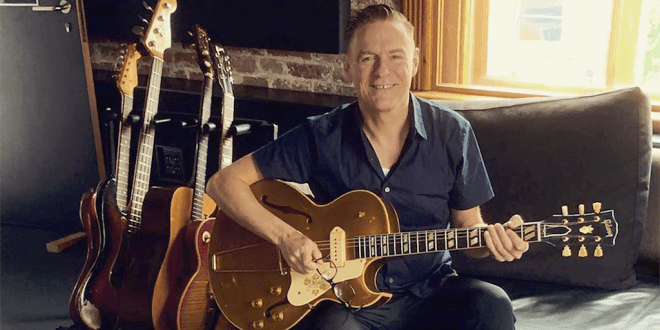 Rock star Bryan Adams credits veganism for his youthful countenance