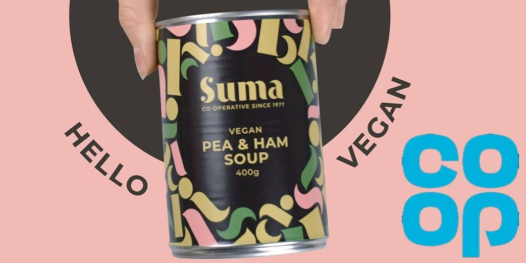 Suma to offer a vegan pea and ham soup