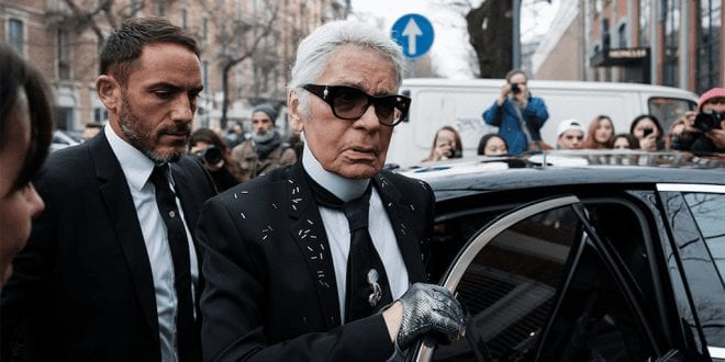 The Karl Lagerfeld brand bans fur thanks to animal activists' pressure