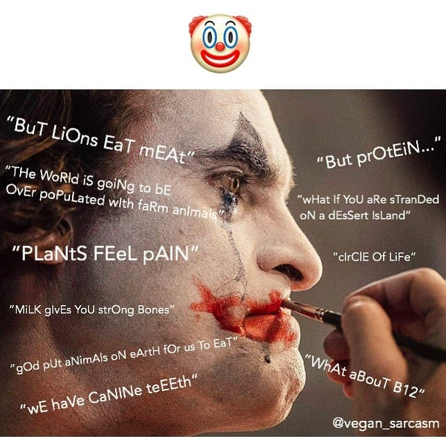 Them clown reasons