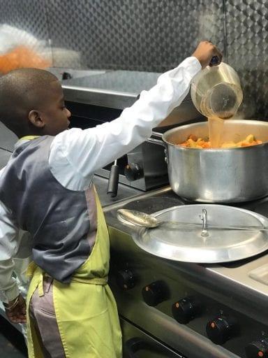Vegan chef, 11, bullied at school after opening Caribbean restaurant