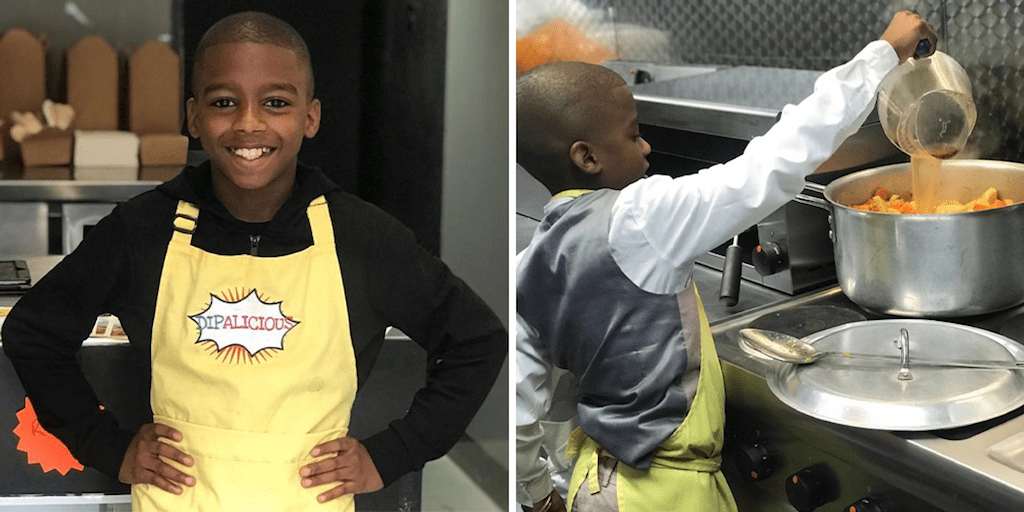 Vegan chef, 11, bullied at school after opening Caribbean restaurant