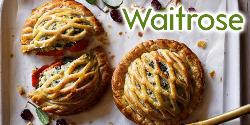 Vegan festive food sales up by 40% at Waitrose