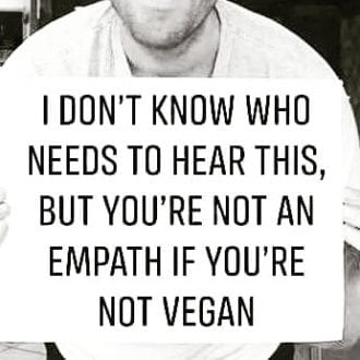You're not an empath