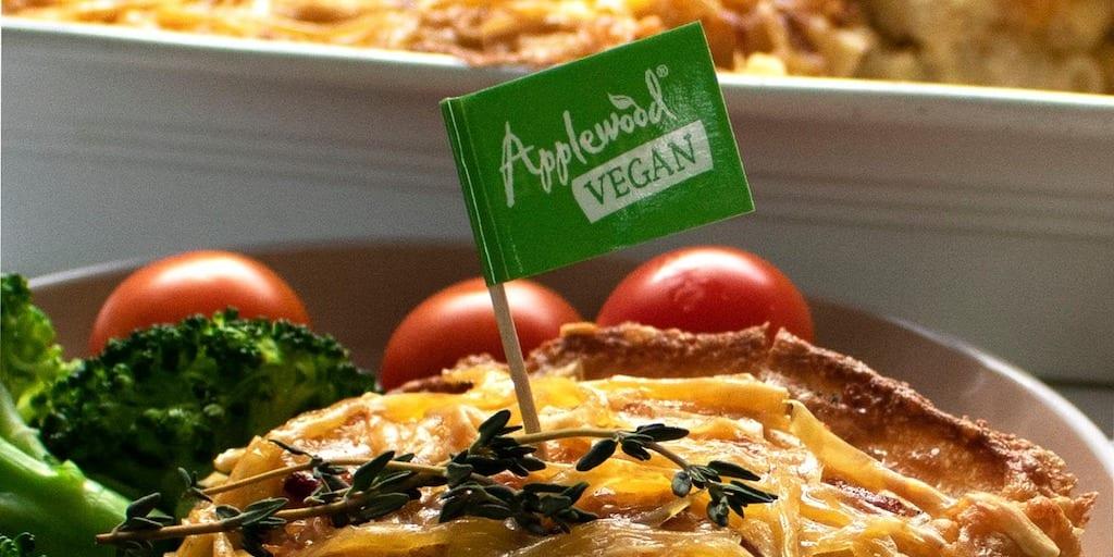 Applewood vegan cheese