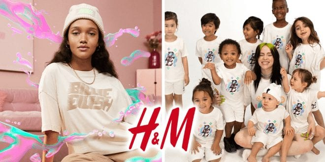 Billie Eilish launches sustainable clothing and merchandise with H&M
