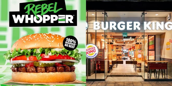 Burger King rebel whopper is not vegan