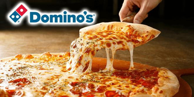 Dominos Vegan pizza