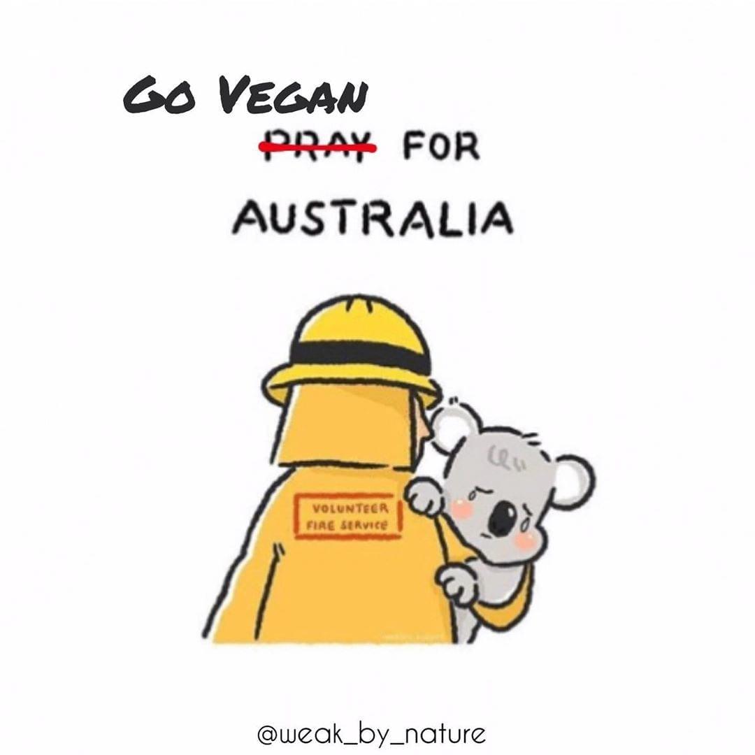 Go vegan For Australia