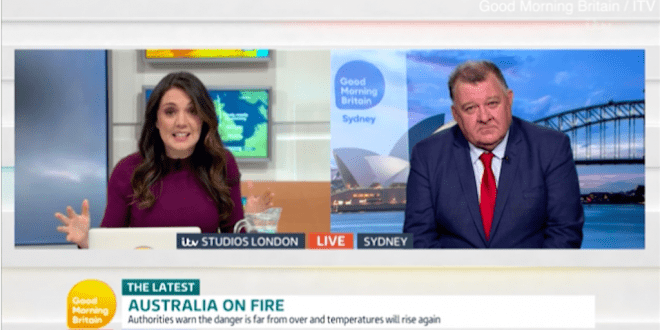 Good Morning Britain presenter brands Sydney MP