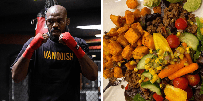 Jon 'Bones' Jones 90% vegan