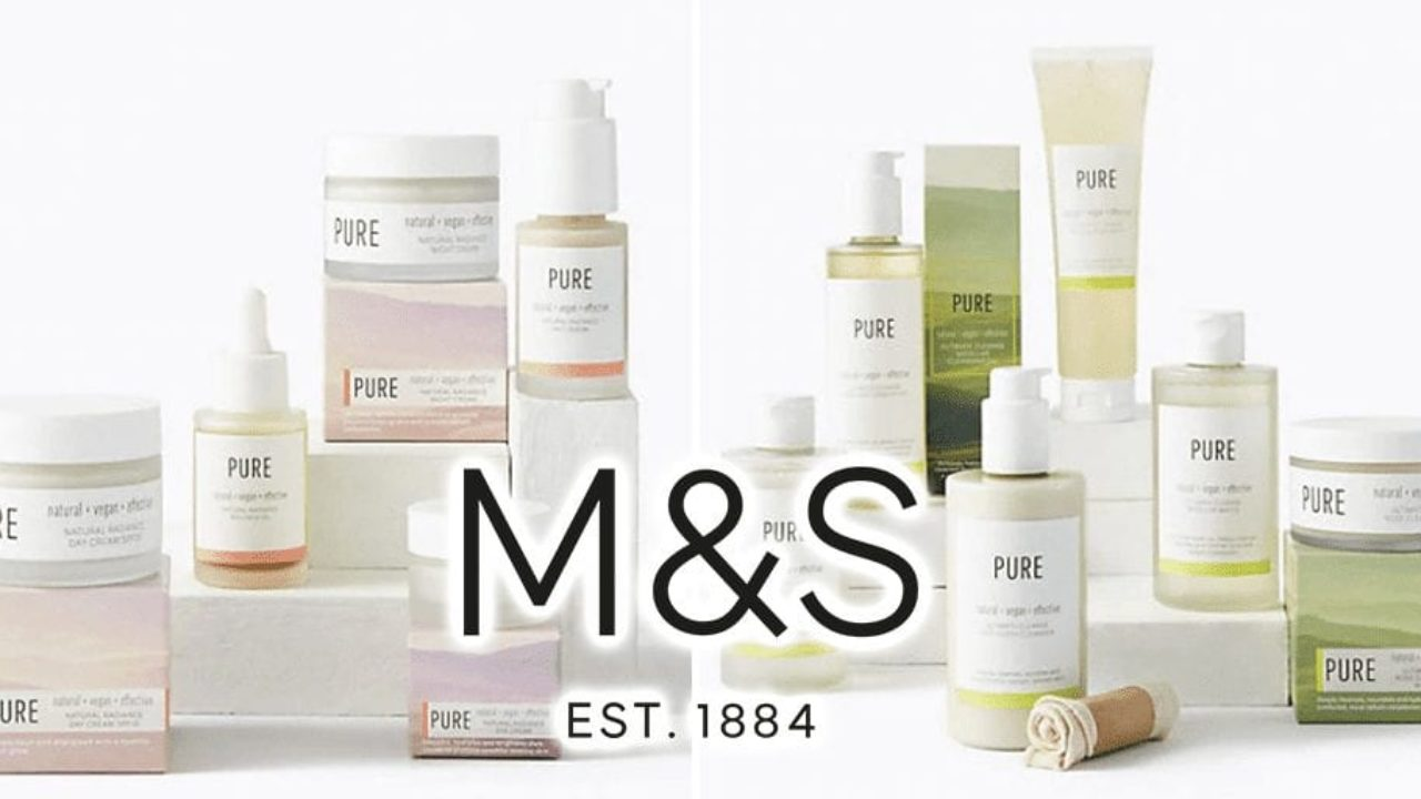 Marks Spencer Launches Pure Vegan Cruelty Free Skincare Collection Totally Vegan Buzz