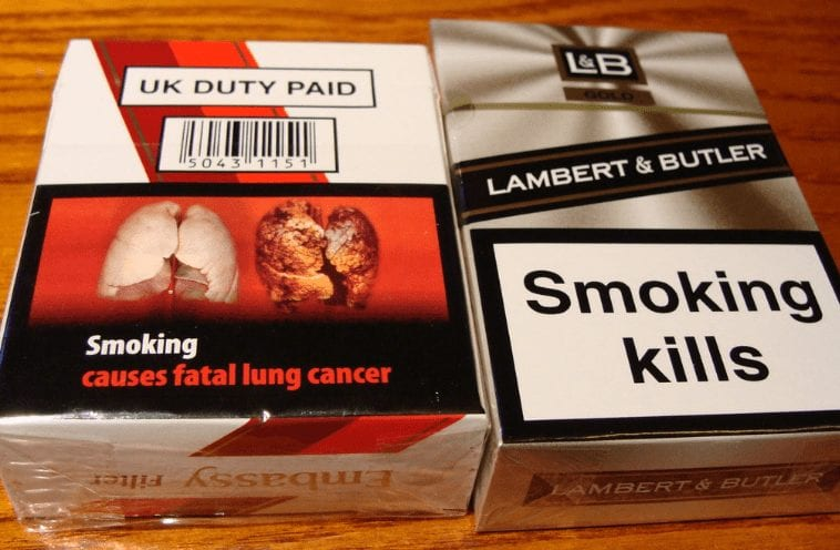 Meat packaging should feature grotesque cigarette-style images 'to warn people about what they are eating'