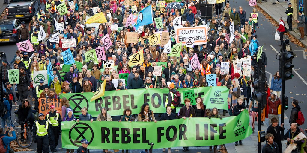 Outrage as Extinction Rebellion added to Police List Of Extremist Organisations