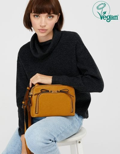 TAYLOR VEGAN CROSS-BODY BAG