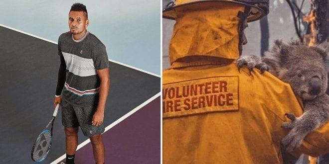Tennis Pro Player Nick Kyrgios is a vegan