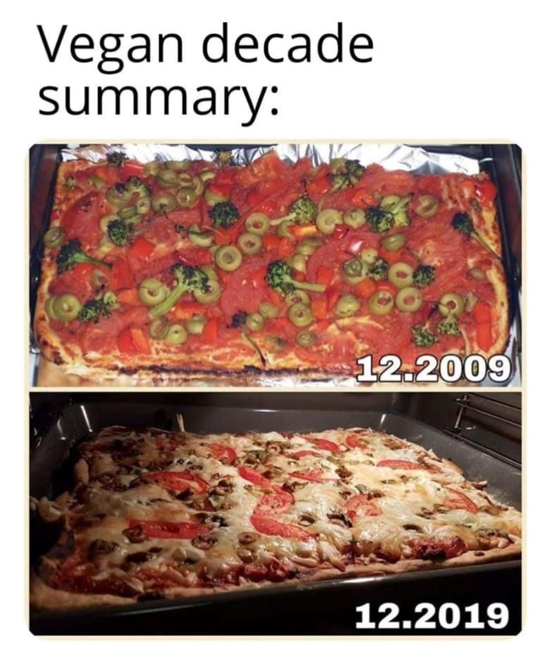 Vegan decade summary