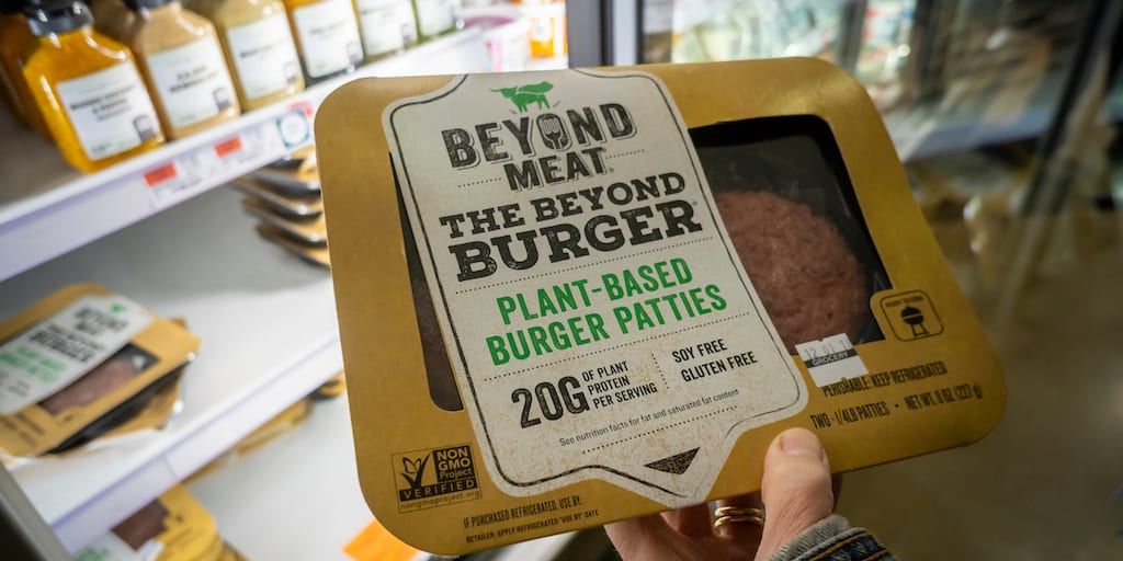 Vegan food accounted for 25% of all new product launches in the UK in 2019