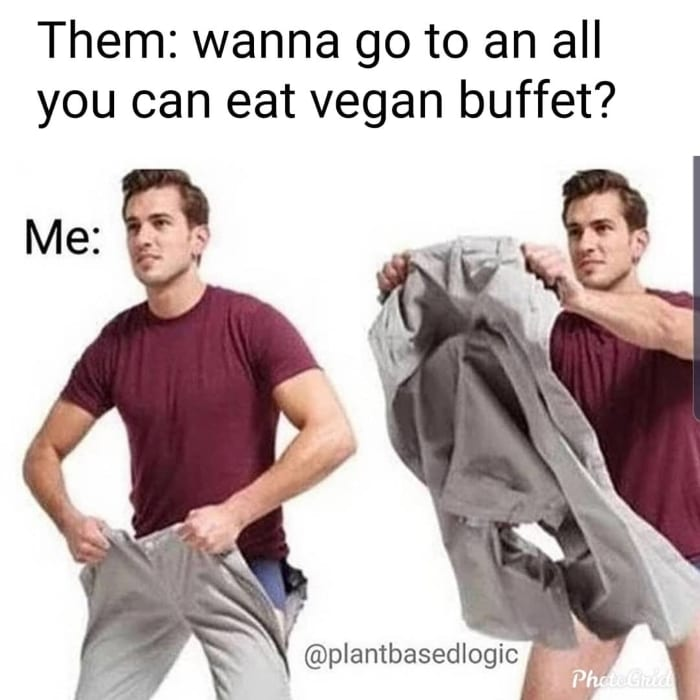 Wanna go to an all you can eat vegan buffet