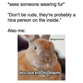 Your face kills my dreams