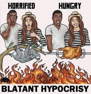 Blatant Hypocrisy