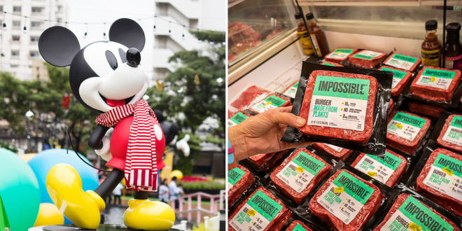 Disney to add Impossible Foods' plant-based burgers across resorts, parks and cruises