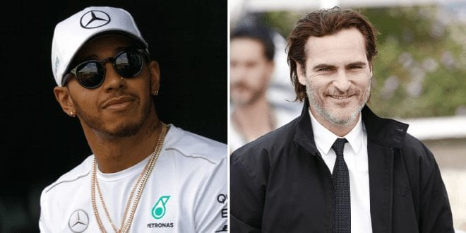 Lewis Hamilton is inspired by Joaquin Phoenix's Oscar Speech