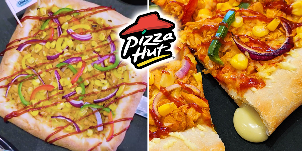 Pizza Hut UK launches its first Vegan Stuffed Crust Pizza today