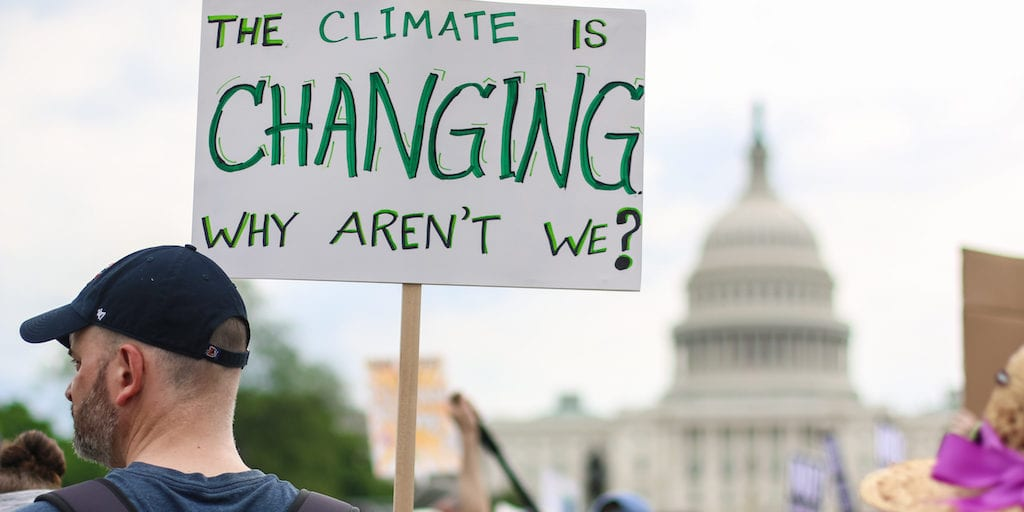Some American still feel humans are not driving climate change
