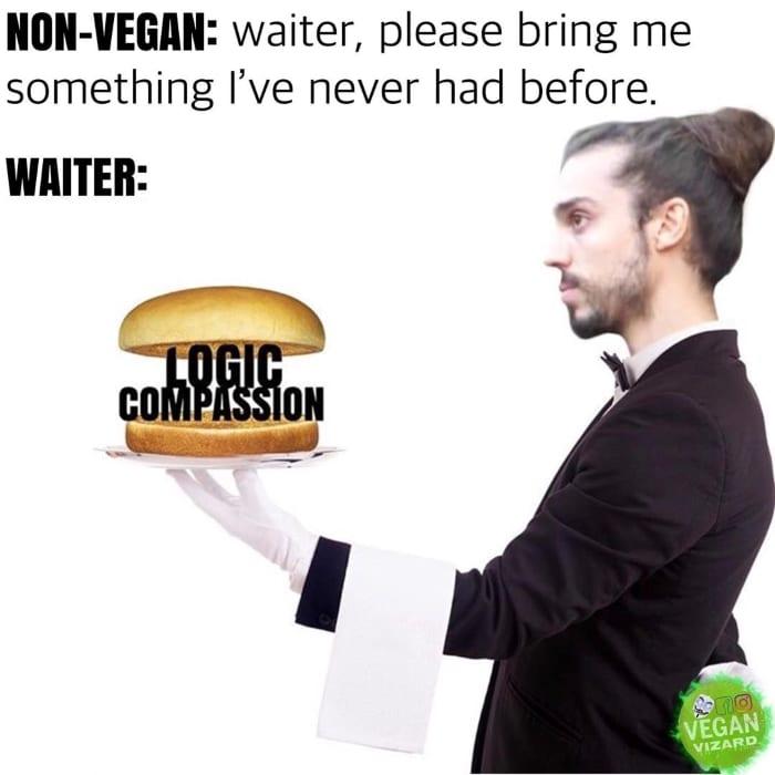Waiter, please bring me something I've never had before