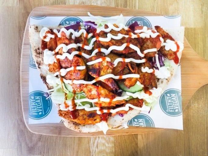 PETA lists the top 10 best vegan kebabs in the UK
