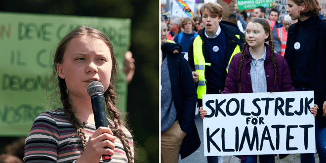 Greta Thunberg urges campaigners to continue protests online amid coronavirus threat