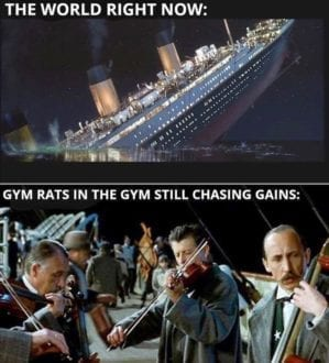 Gym rats in the gym