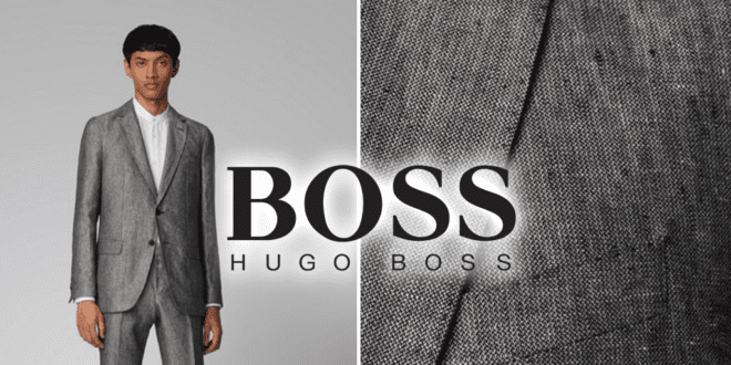 Hugo Boss launches its first vegan men's suit
