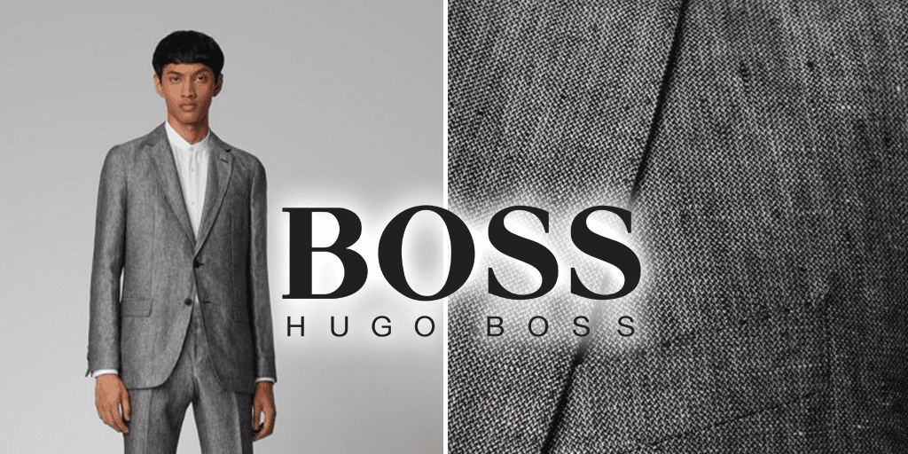 Hugo Boss launches its first vegan men's suit