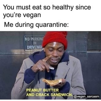 Peanut butter and Crack sandwich