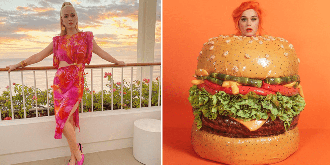 Pregnant Katy Perry satisfies meat cravings with plant-based Impossible burgers