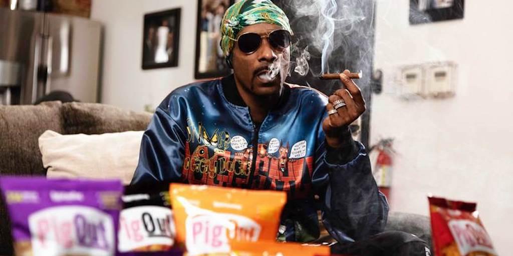 Snoop Dogg invests in vegan 'pigless pork rinds' snacks