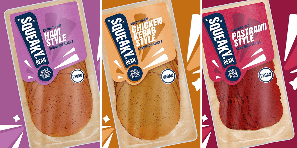 Squeaky Bean to launch 3 vegan sandwich meat flavours in Waitrose stores