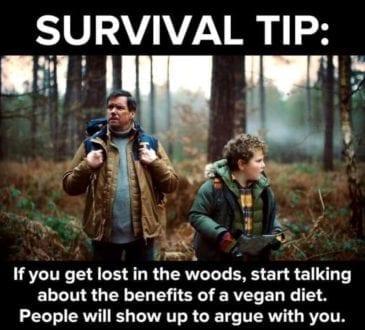 Survival Tip_TotallyVeganBuzz