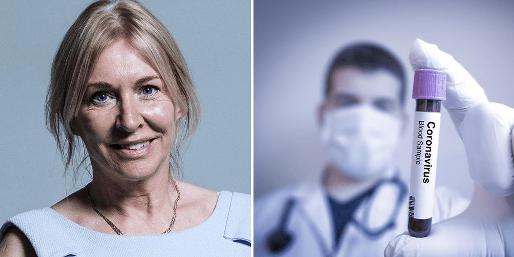 UK Health Minister Nadine Dorries tests positive for coronavirus