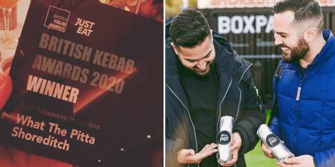 Vegan kebab chain wins British Kebab Awards