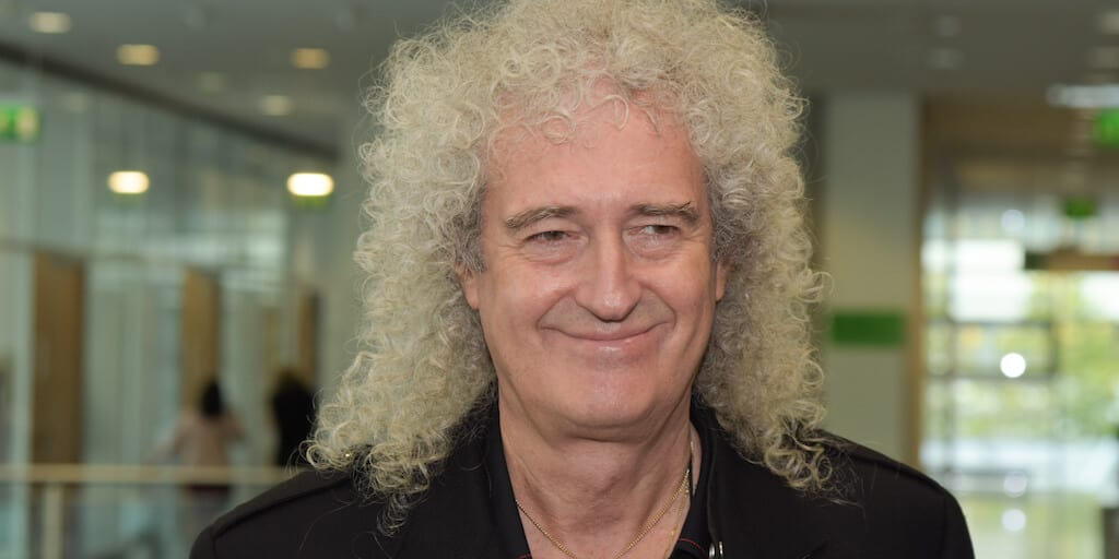 Brian May says animal eating has brought on coronavirus