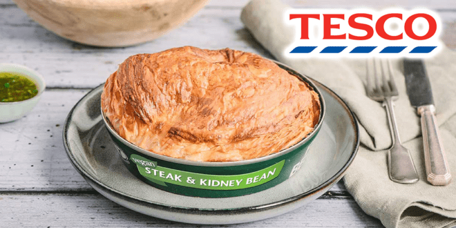 Fray Bentos' new vegan steak and kidney bean pie to launch in Tesco