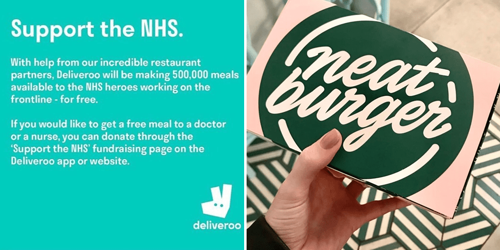 Lewis Hamilton's Neat Burger Chain and Deliveroo partner to supply free vegan meals to NHS workers on coronavirus frontline