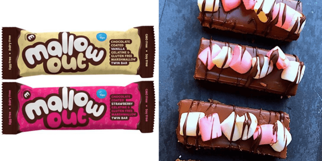 Major confectionery company launches market's first vegan chocolate marshmallow bars across the UK
