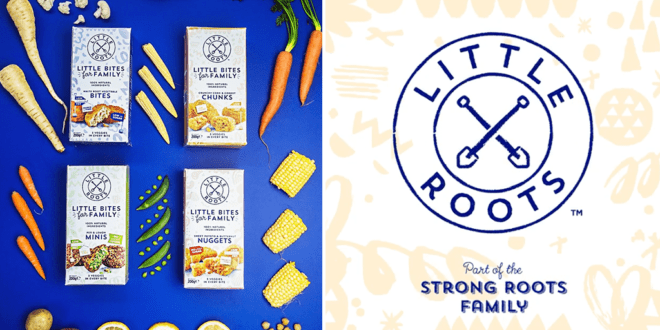 Strong Roots launches first plant-based range for kids