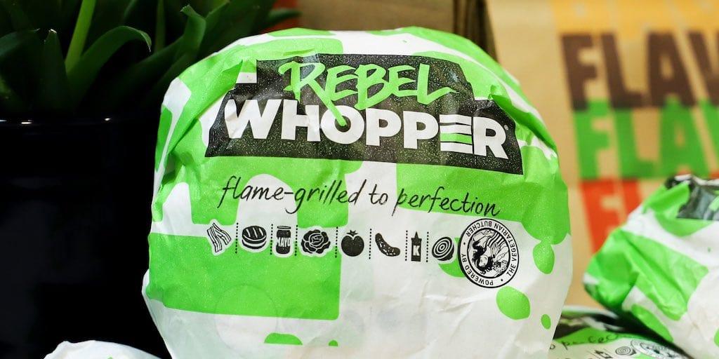 Watchdog bans Burger King's 'misleading' ads on its 100 % plant-based Rebel Whopper