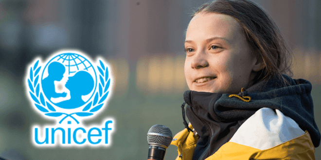 Greta Thunberg launches UNICEF's coronavirus protection campaign for children