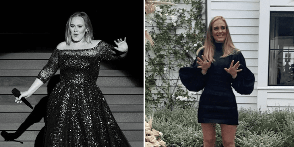 Adele shows off incredible weight loss on her 32nd birthday